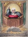 Cambridge Commencement Sermon - James Gillray