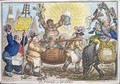 The Triumph of Quassia - James Gillray