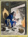 Comfort to the Corns - James Gillray