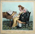 Lullaby soothe him with a lullaby - James Gillray