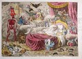 Political Dreamings Visions of Peace Perspective Horrors - James Gillray