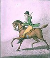 How to Ride with Elegance thro the Streets - James Gillray