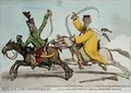 Mamlouk et Hussard Republicain or General Result of Bonapartes Attack upon Ibrahim Beys 1735-1817 Rear Guard - James Gillray