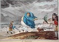 A Squall - James Gillray