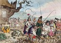 Consequences of a Successful French Invasion or We teach de English Republicans to work - James Gillray