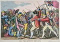 The Triumphant Britons - James Gillray