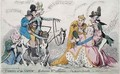 Taming of the Shrew Katherine and Petruchio or The Modern Quixote - James Gillray