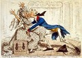 Political Ravishment Or the Old Lady of Threadneedle Street in Danger - James Gillray