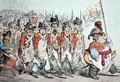 Supplementary Militia Turning out for Twenty Days Amusement or The French invade us hay damme whos afraid - James Gillray