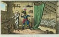 Napoleon Bonaparte 1769-1821 poisoning the sick at Jaffa - James Gillray