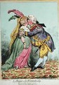 Le Baiser a la Wirtembourg 2 - James Gillray