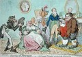 Leaving off Powder or A Frugal Family saving the Guinea 2 - James Gillray