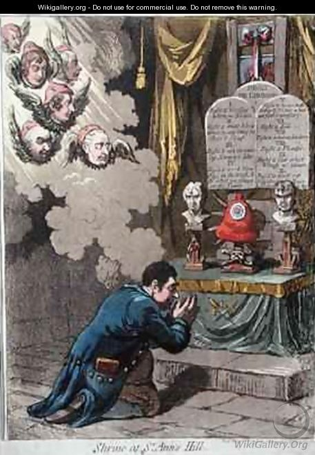 Shrine at St Anns Hill 2 - James Gillray
