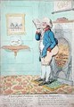 A keen sighted Politician warming his Imagination - James Gillray