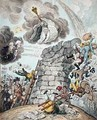 Overthrow of the Republican Babel - James Gillray