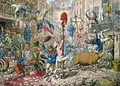 The Promised Horrors of the French Invasion - James Gillray