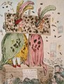 Exaltation of Faros Daughters - James Gillray