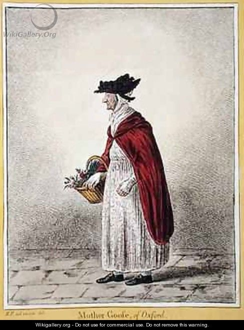 Mrs Rebecca Howse known as Mother Goose of Oxford - James Gillray