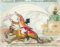 The coming on of the Monsoons 2 - James Gillray