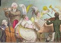 The Pic Nic Orchestra - James Gillray