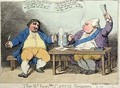 The Right Honourable Catch Singers - James Gillray