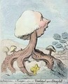 An Excrescence A Fungus Alias A Toadstool upon a Dung hill - James Gillray