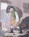 Georgey in the Coal Hole - James Gillray