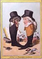 A Pair of Polished Gentlemen - James Gillray