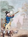 A Good Shot or Billy Ranger the Game Keeper in a fine Sporting Country - James Gillray