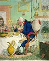 Temperance enjoying a Frugal Meal - James Gillray