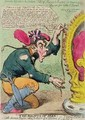 The Rights of Man or Tommy Paine the little American Taylor taking the Measure of the Crown for a new Pair of Revolution Breeches - James Gillray