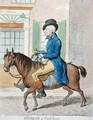 Georgey a Cockhorse - James Gillray
