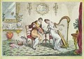 Harmony before Matrimony - James Gillray