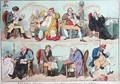 Nelsons Victory or Good News operating on Loyal Feelings - James Gillray