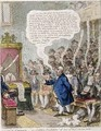 Political Candour ie Coalition Resolutions of June 14th 1805 Pro Bono Publico - James Gillray