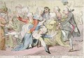 The Royal Joke or Black Jacks Delight - James Gillray