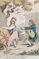 Britannia in French Stays or Re Form at the Expense of Constitution - James Gillray