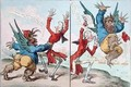 The Tables Turnd - James Gillray