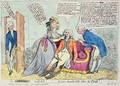 The Coward Comforted - James Gillray