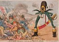 Austrian Bugaboo Funking the French Army - James Gillray