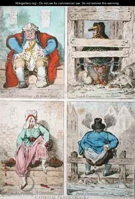National Conveniences - James Gillray