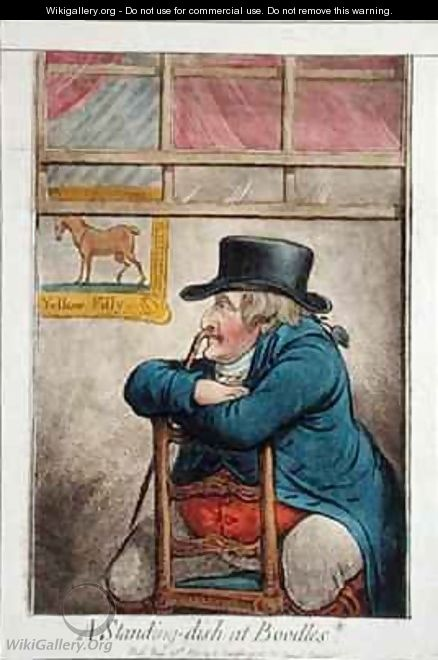 A Standing Dish at Boodles vide a d d good Cocoa Tree Pun - James Gillray