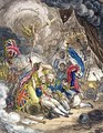 The Death of Admiral Lord Nelson at the Moment of Victory - James Gillray