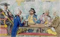 A Smoking Club - James Gillray