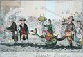 The Triumphal Procession of Little Paul the Taylor upon his new Goose - James Gillray