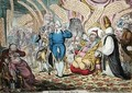 Visiting the Sick - James Gillray