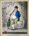 Sad Sloppy Weather - James Gillray