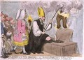 The Bishop of a Tuns Breeches or The Flaming Eveque purifying the House of Office - James Gillray