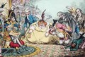 Introduction of Citizen Volpone and his Suite at Paris - James Gillray