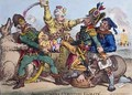 Allied Powers Un Booting Egalite - James Gillray